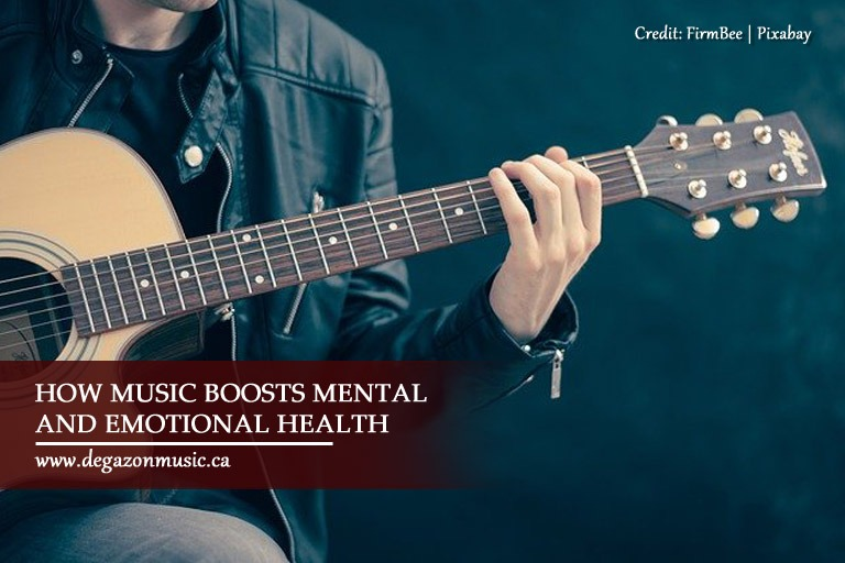 How music boosts mental and emotional health